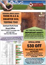 Soil Testing Special