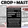 DRUM LABEL CROPMASTER