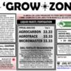 DRUM LABEL GROWZONE