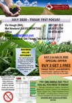 JULY 2020 – Tissue Test Special